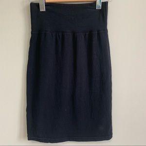Wilfred Black Pencil Skirt